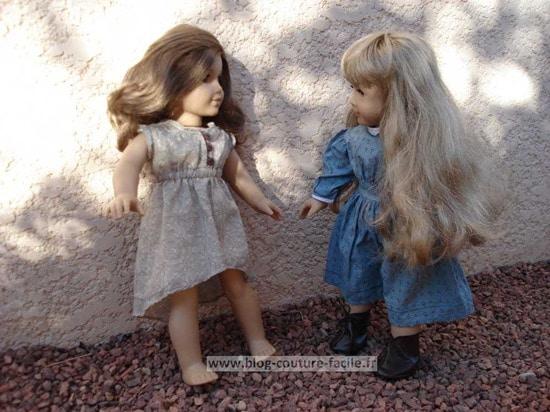poupée american girl rebecca et kirsten