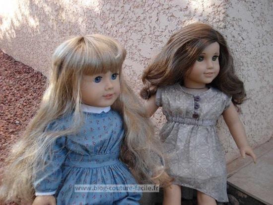 poupée american girl rebecca rubin et kirsten