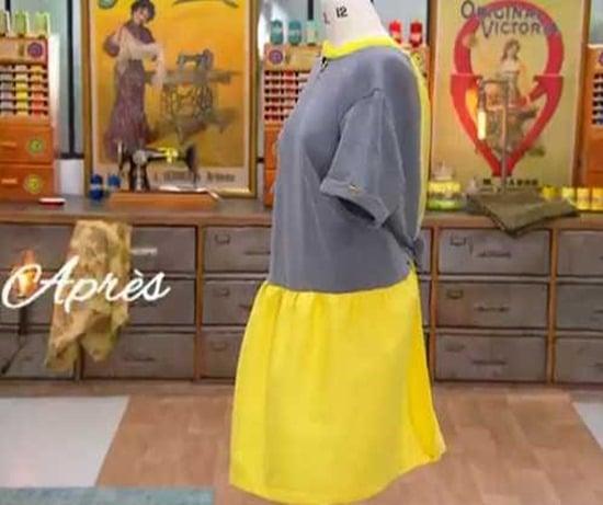 cousu main 2 customisation sweat robe laetitia