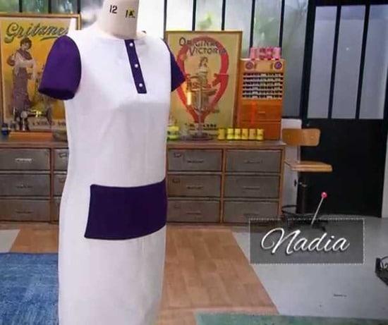 cousu main 2 robe droite Nadia