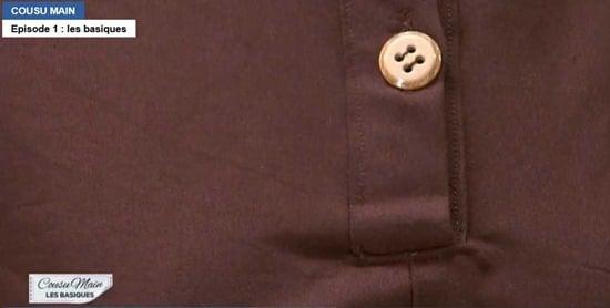 cousu main 2 robe droite Roderick patte polo