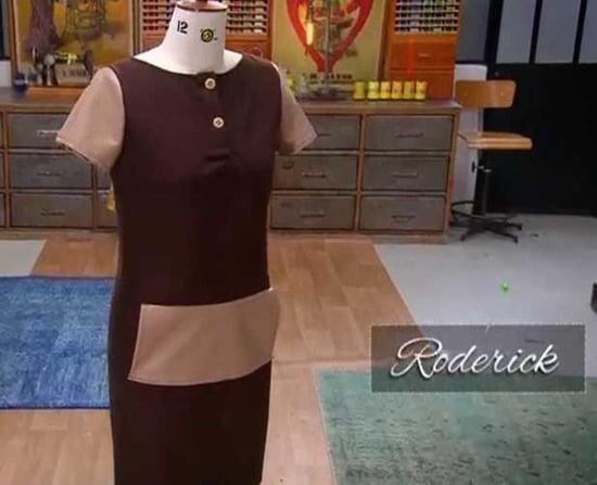 cousu main 2 robe droite Roderick