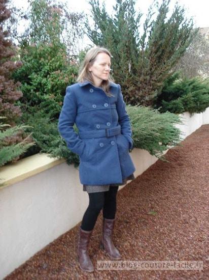 manteau vogue femme V8884
