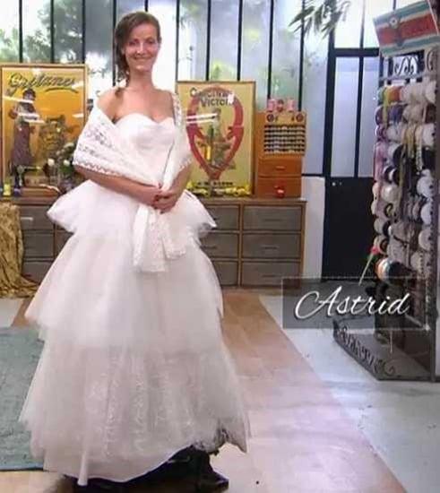 cousu main 2 robe de mariée Astrid