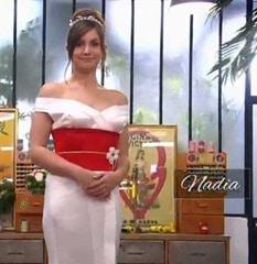 cousu main 2 robe de mariée Nadia