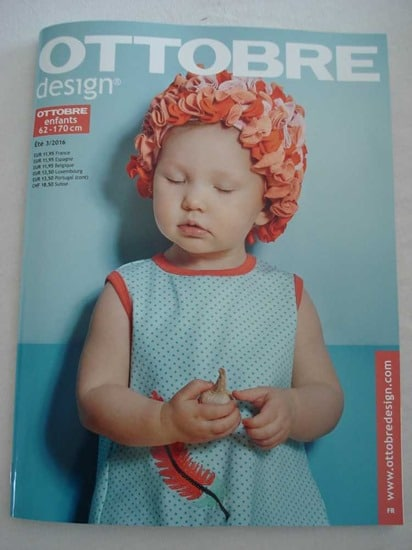 ottobre enfants magazine ete 2016