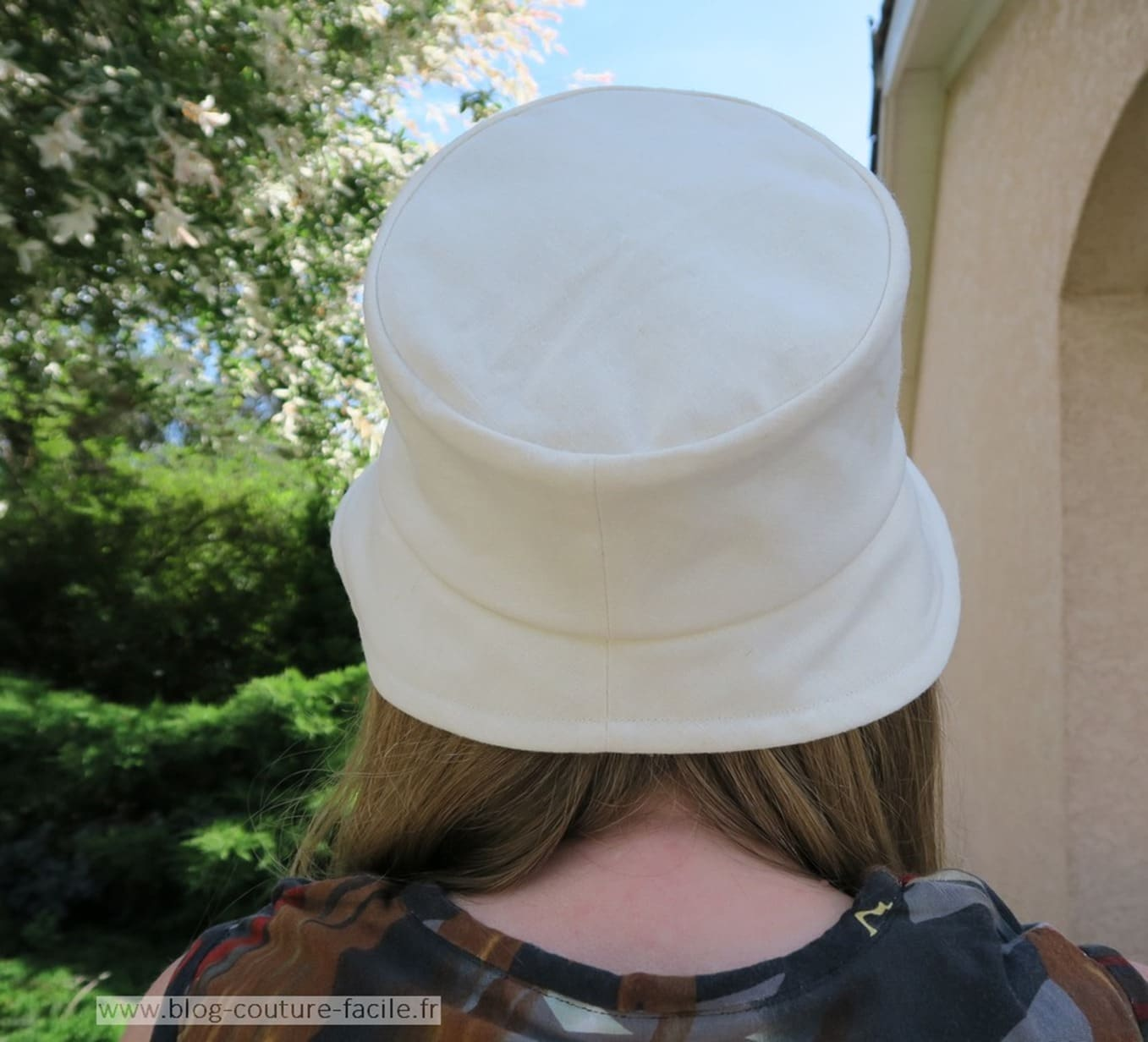 chapeau bob femme dos