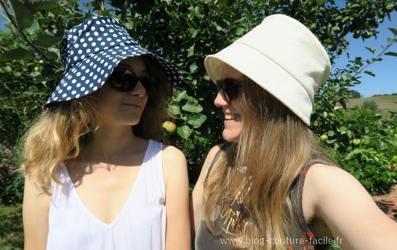 chapeau mere et fille