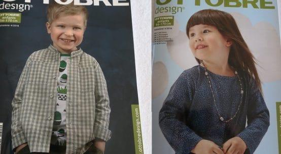 magazine de couture ottobre pour enfants