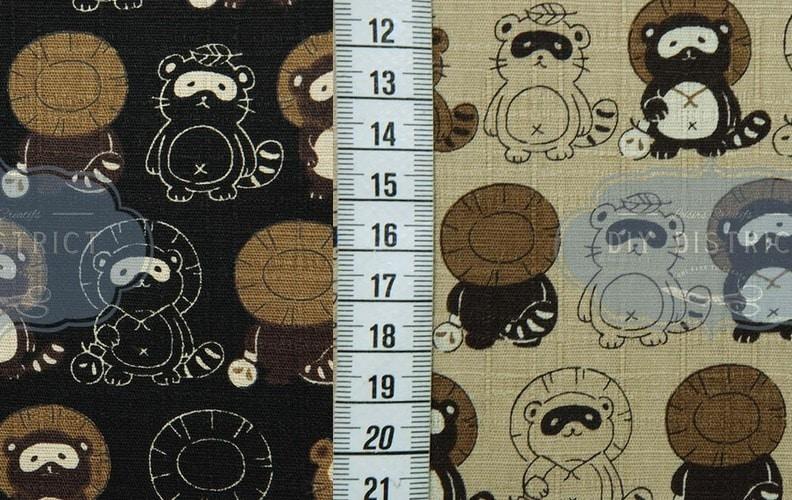 tissu-japonais-tanuki