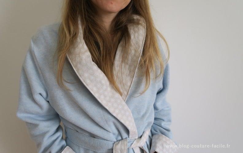 peignoir robe de chambre Burda 9620