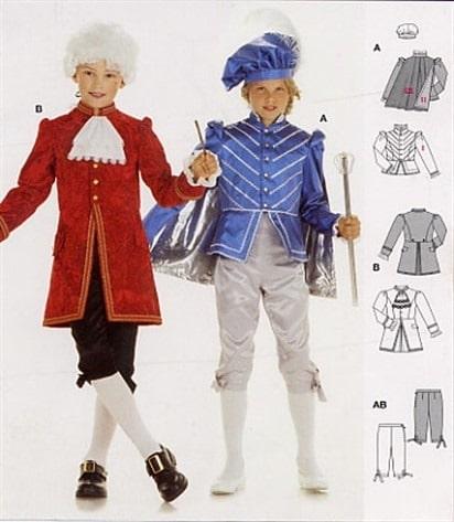 pochette-Burda-2461-costume-prince-mozart