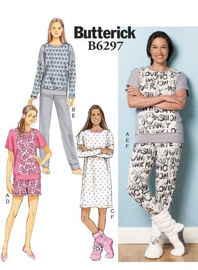 patron-pyjama-butterick-chaussons