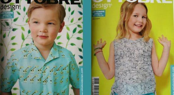 magzine de couture pour enfant
