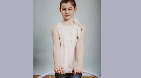 Top à noeud pour fille