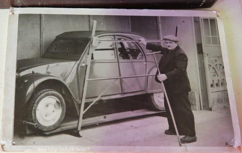 Francis Salmin Renault 4 machine coudre R50