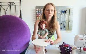 Vlog couture meuble poupee