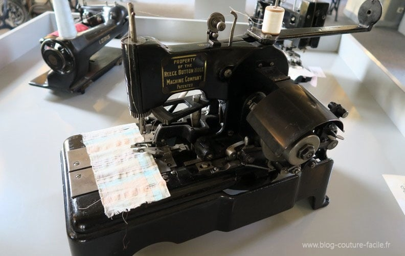 machine industrielle Reece boutonnieres