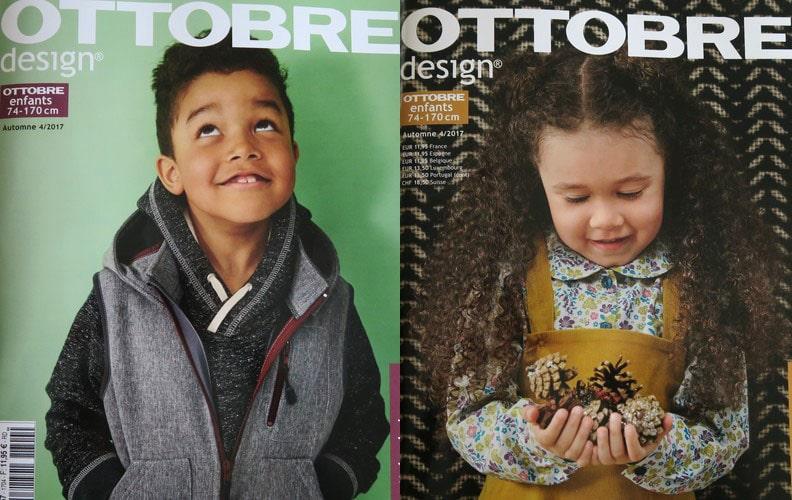 magazine couture enfants Ottobre automne