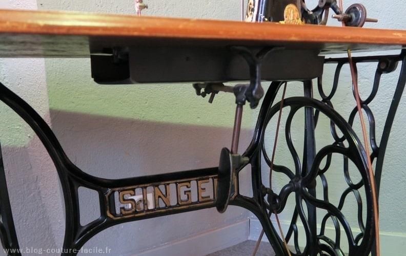 pedale machine a coudre singer