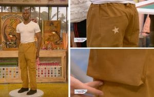 cousu main saison 3 pantalon cargot homme