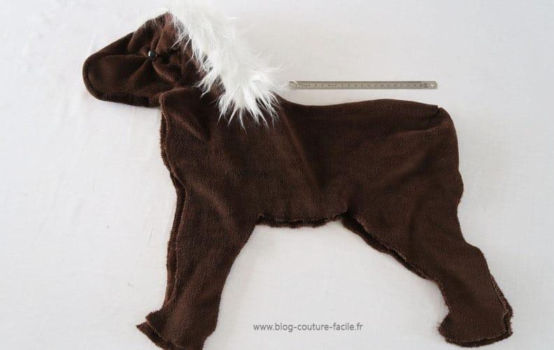 cheval pour poupee en cours de realisation