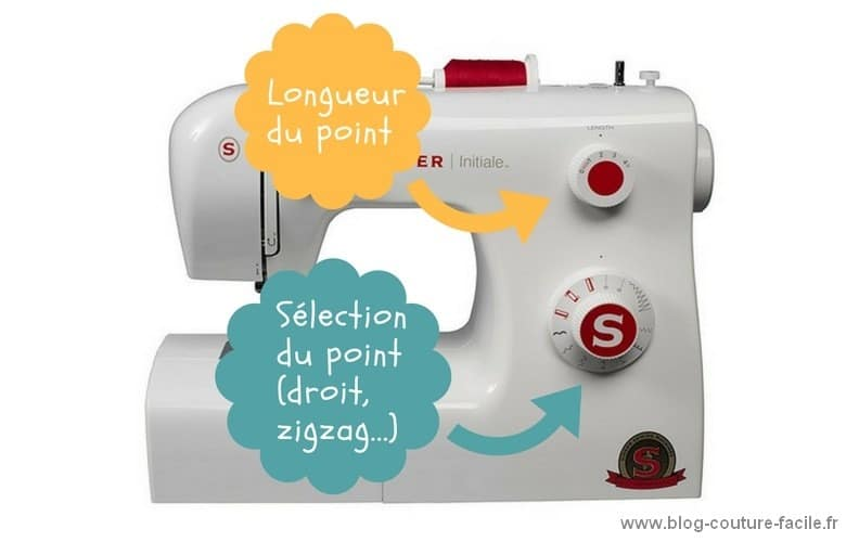 selecteur point machine singer