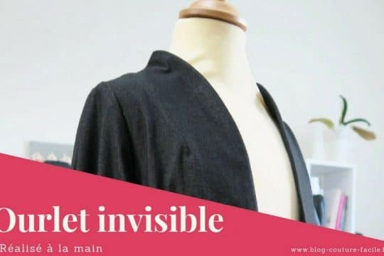 ourlet invisible a la main