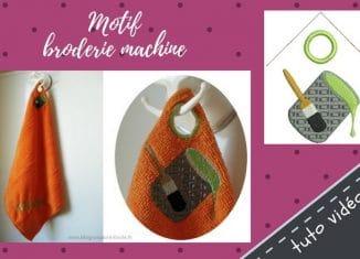 tuto motif broderie machine