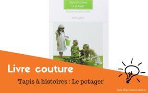 livre couture tapis histoire potager