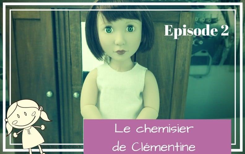 chemisier pour poupée clementine
