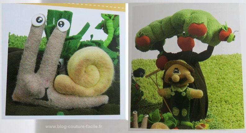jardinier-escargot-tissu