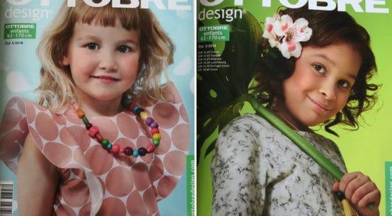 magazine couture ottobre enfants ete 2018