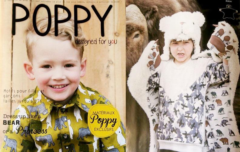 magazine de coudure enfants poppy