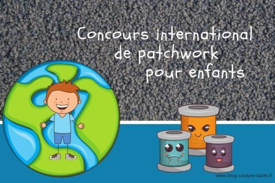 concours international de patchwork pour enfants