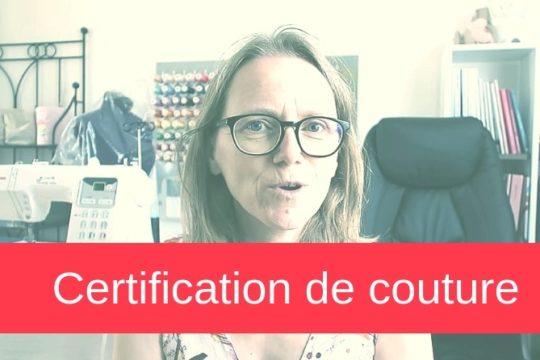 certification de couture