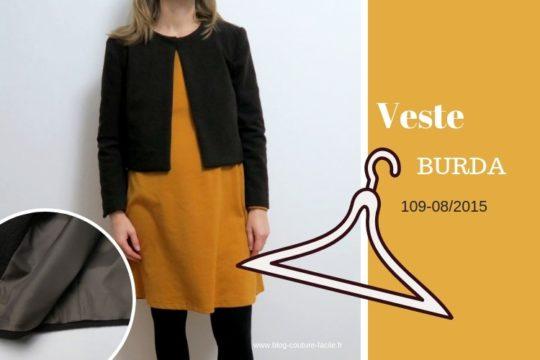 veste courte Burda