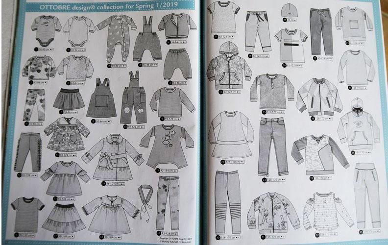 Magazine couture enfants Ottobre printemps 2019