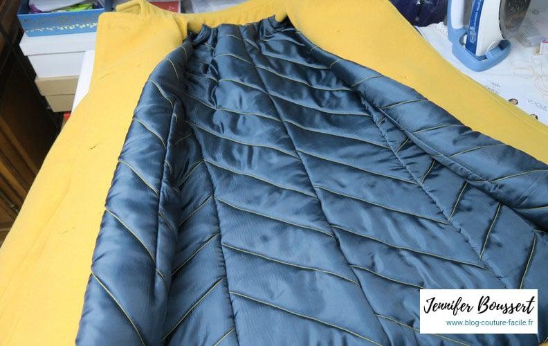 manteau vogue V8884 doublure