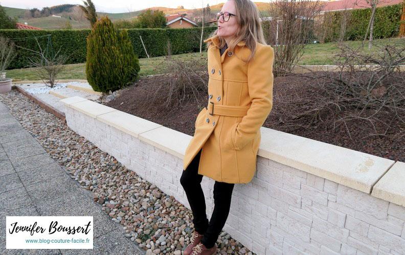 manteau vogue V8884 profil