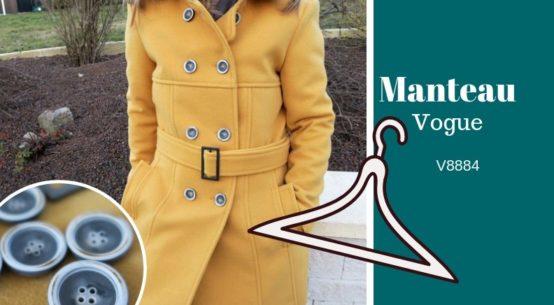 manteau vogue hiver v8884