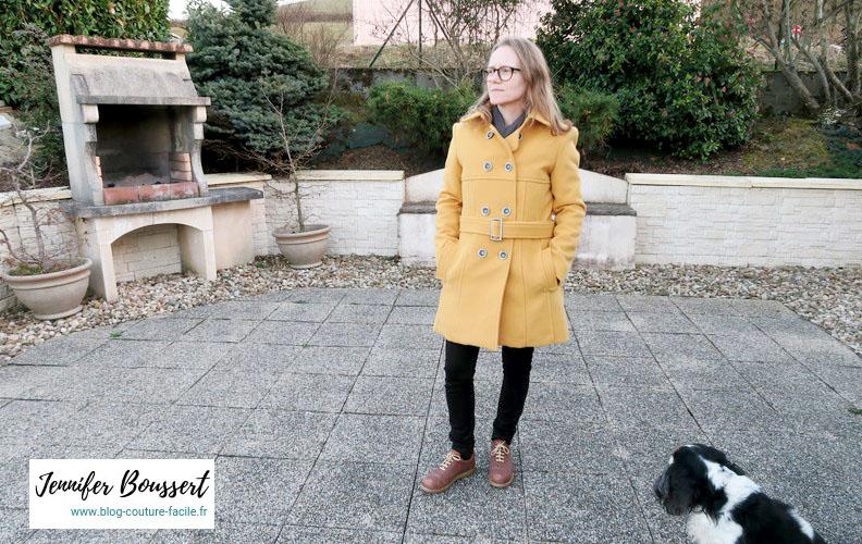manteau vogue V8884 hiver