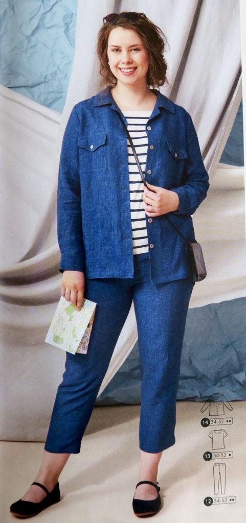 tailleur pantalon ottobre