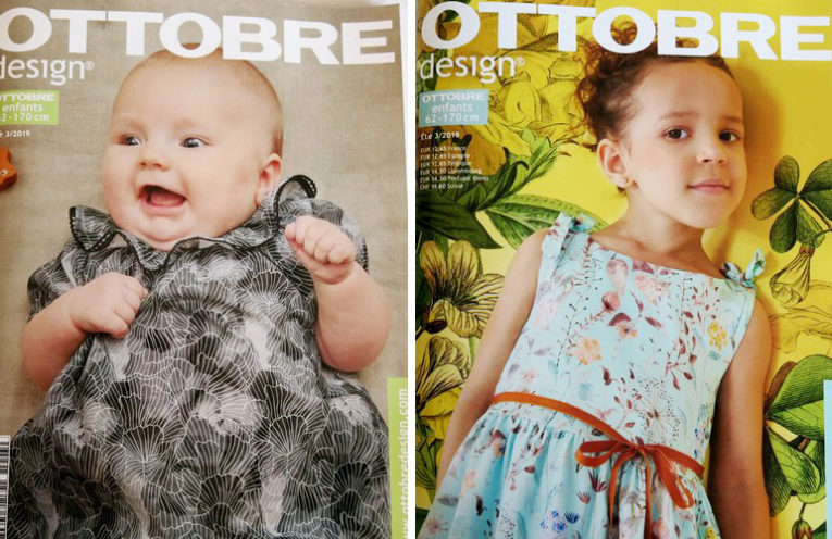 magazine ottobre enfants ete 2019