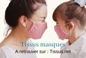 tissu masque kit