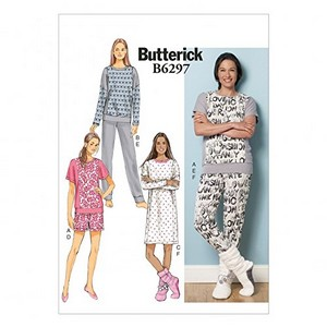 patron couture pyjama butterick 6297