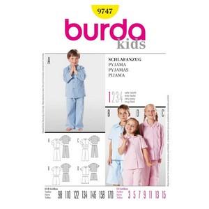 patron couture pyjama garcon B9747