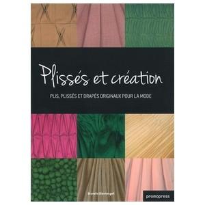 plisses et creation livre couture