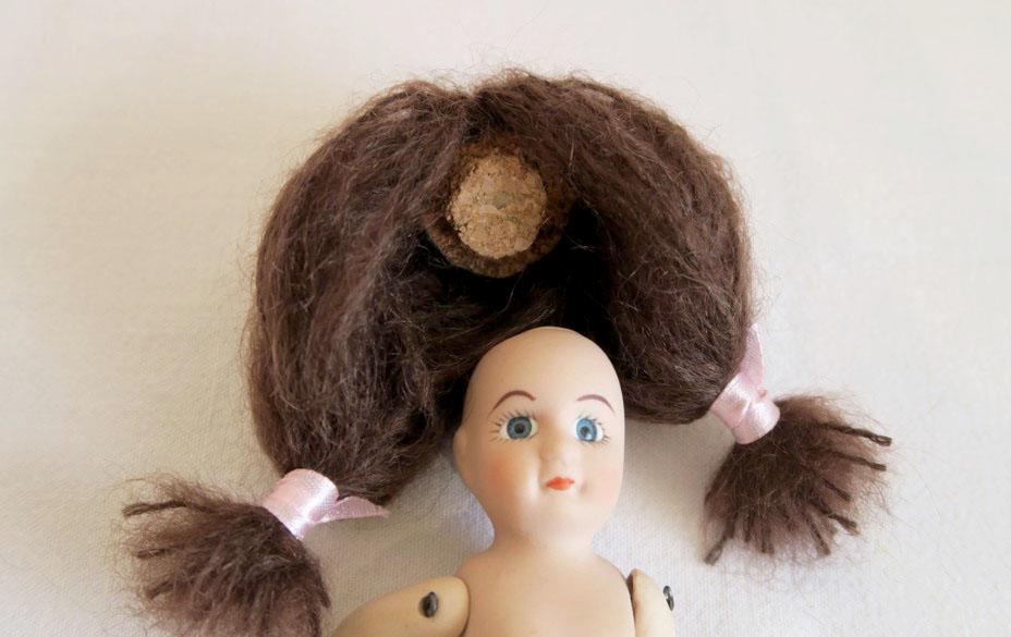 calotte cheveux mignonnette