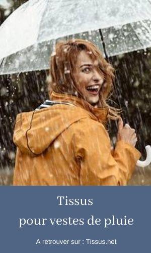 tissu pluie